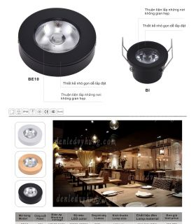 ĐÈN LED DOWNLIGHT ÂM TRẦN - BE-BI